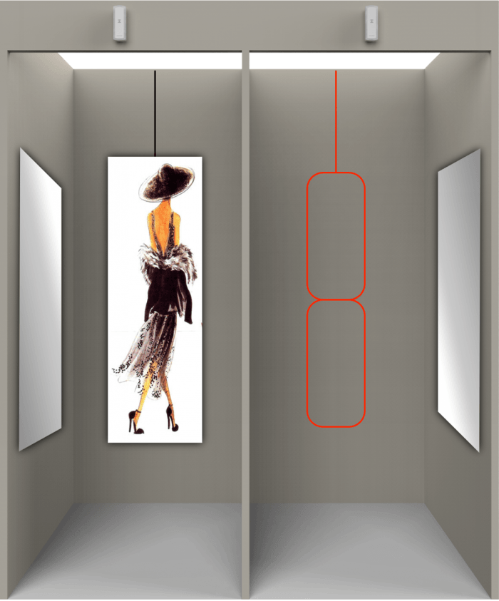 Detect fitting room fraud while it is happening thanks to the Cross Point solution.