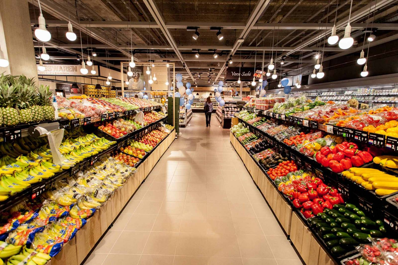 Cross Point solutions for the Supermarkets Branche