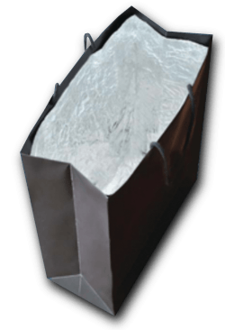 Metal detection stops booster bags