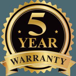 5 Years Warranty on Cross Point antennas